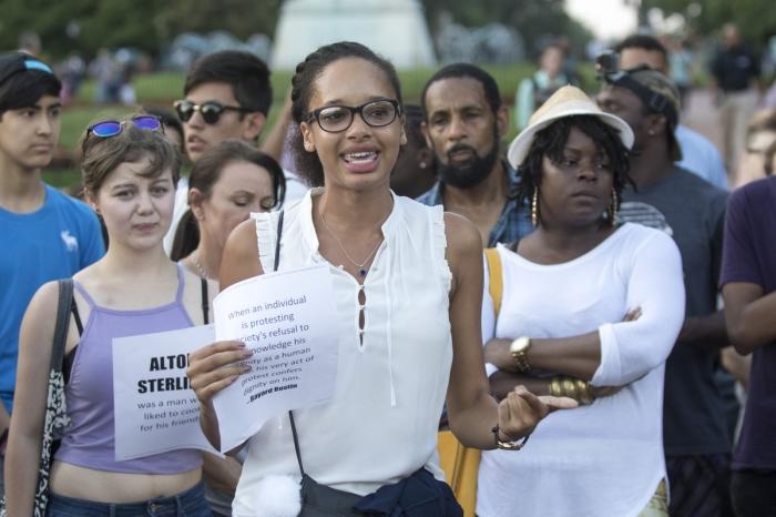 Angela@BlackLivesMatterProtest